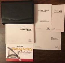 2013 Hyundai Santa Fe Owner's Manual Set for Sale! FREE SHIPPING