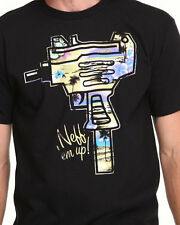 NEFF 'NEFF EM UP' MENS BLACK T-SHIRT SIZE XLARGE *BRAND NEW* FREE POST