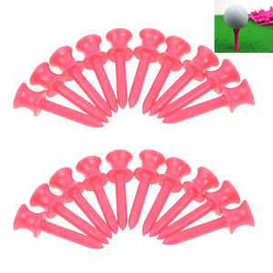 """100Pcs Recyclable Golf Tees 41mm/1.61"""" Assistant Tool for Golfer Practice Game"""