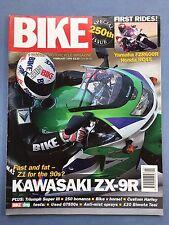 BIKE - Feb 1994 - Yamaha FZR600R - Kawasaki ZX-9R Ninja - Triumph Super III