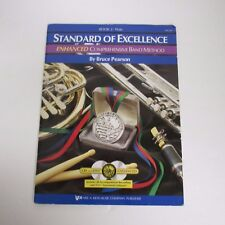 Standard of Excellence Book 2 Flute Band Method 2-Cd Pw22Fl Enhanced Pearso Kjos