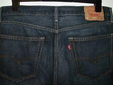 LEVI'S 505 Regular Fit Straight Leg Jeans W36 (34) L30 (28) 5009