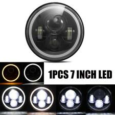 "7"" Inch LED Headlight Light Projector Fit For Motorcycle Jeep Wrangler JK CJ LJ"