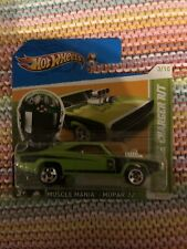 HOT WHEELS 2012 MUSCLE MANIA MOPAR '70 DODGE CHARGER R/T GREEN