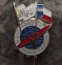 1965 International Canoe Kayak Whitewater Slalom Championships Slovak Pin Badge