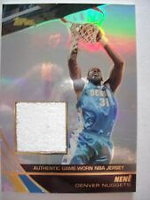 2004 TOPPS BASKETBALL GAME JERSEY NENE  NUGGETS  JE-NN   B54