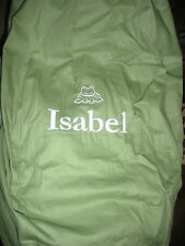 "Pottery Barn Kids Anywhere Beanbag Cover ""Isabel"" frog New"