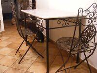 Tavolo Pranzo Tavolino Salotto FERRO BATTUTO  Realizzazioni Personalizzate . 686