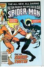 Spectacular Spider-Man #116 July 1986 F/VF Sabretooth