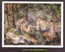 PIERRE-AUGUSTE RENOIR Bathers in Forest (1897) ART ARTWORK PAINTING POSTCARD