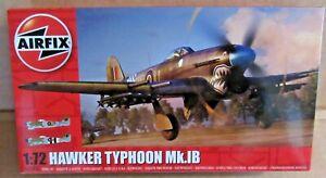 AIRFIX HAWKER TYPHOON MK.IB 1:72 SCALE MODEL KIT WW2 GROUND ATTACK AIRCRAFT RAF