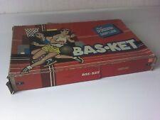 Vintage 1954 Cadaco-Ellis BAS*KET Basketball Flip Action Game No. 165