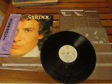 "MICHEL SARDOU ""SAME"" - LP  JAPAN + INSERT - YX-7232-TR"