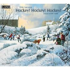 2018 Lang Hockey Hockey Hockey Wall Calendar by D. R. Laird NEW