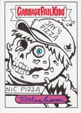 2017 GARBAGE PAIL KIDS ADAM GEDDON SKETCH CARD DELIVER ROY JAY DECAY RARE GRAHAM