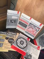 The General Radio Experimenter 8 Issues. Ham Radio,TV News.