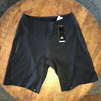 Adidas Training Shorts Running Yoga 4 KRFT Elite Black CX0190 Mens Large 34in