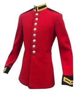 HOUSEHOLD CAVALRY LIFEGUARDS TUNICS - RED - CEREMONIAL - BRITISH ARMY - RR - C29