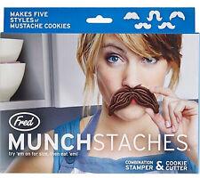 Munchstaches SCHNURRBART Keks Ausstechförmchen