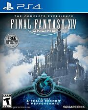 Final Fantasy XIV Online [PlayStation 4 PS4, Realm Reborn & Heavensward, MMORPG]