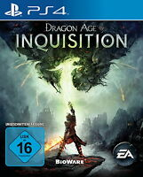 Dragon Age Inquisition Sony PlayStation 4 PS4 Neuw. Ungeschnittene Vers. Deutsch