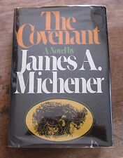 SIGNED - THE COVENANT by James A. Michener - 1980  1st edition stated - HCDJ