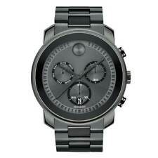 Movado Bold Chronograph Mens Gunmetal Watch 3600486