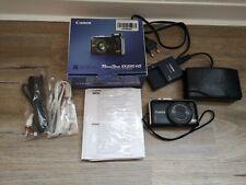 Canon PowerShot SX230 HS 12.1MP Digitalkamera KOMPLETT inkl. SD-Karte / schwarz
