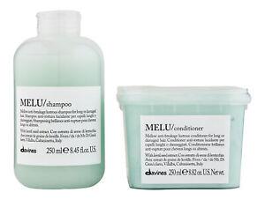 Davines Melu Shampoo & Conditioner 250 ml. Hair Care Set