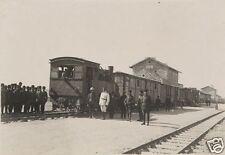 Ottoman Turkish Railroad Beersheba Palestine 1917 World War 1 7x5 Inch Photo