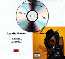AZEALIA BANKS 1991 UK 4-track promo test CD Clean Versions
