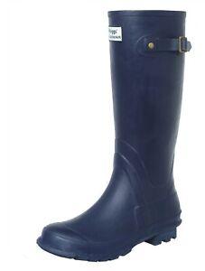 Hoggs of Fife - Braemar Wellington Boot - Navy