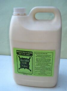 Leather lube 5 litre softening hides after tanning. Free delivery Australia wide