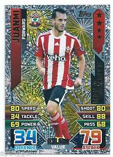 2015 / 2016 EPL Match Attax Man of the Match (399) Juanmi Southampton