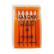 Genuine Janome Denim Needles Size 16