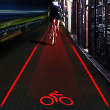 5LED cycling lights rear Waterpeoof Bike Bicycle Cyele Rear Back Tail Light Lamp