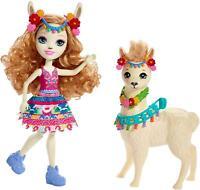 Enchantimals FRH42 Lluella Llama Doll and Fleecy Figure