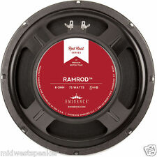 "Eminence RAMROD 10"" Redcoat Guitar Speaker 8 ohm 75 Watt - FREE US SHIPPING!"