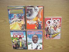 NEW KIDS DVD SELECTION -ANASTASIA, HORTON, GLEE, MEET DAVE, FIREHOUSE DOG