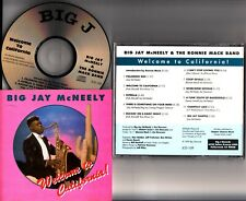 Big Jay McNeely & The Ronnie Mack Band- Welcome To California! 1990 R&B CD RARE