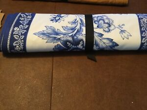 Williams Sonoma Table Runner, Fairfield,French Country Blue Floral,NWT, 16X108