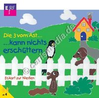 CD: DIE DREI VOM AST ... kann nichts erschüttern (6) -  Hörspiel *NEU*