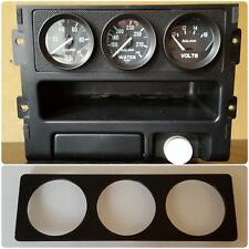 88-91 Honda CRX Radio Gauge Pod 53mm x3_Tri-Gauges mount plate delete block off