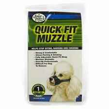 New Four Paws Quick-Fit Dog Muzzle Xs Size 1 Jack Russel, Pugs, Dachshund & More