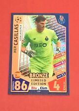 Match Attax Liga de Campeones 2017/18 Iker Casillas bronce edición limitada 17/18