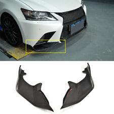 Fit For Lexus GS350 F-Sport Bumper 13-15 Front Lip Spoiler Splitter Carbon fiber