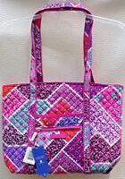 Vera Bradley Iconic Small Vera Tote Shoulder Bag in Modern Medley.  NWT