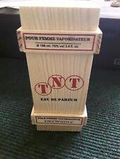 TNT 100ml eau de parfum womans perfume fragrance. Women's. Different unique