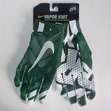 Nike VAPOR KNIT NFL Skill Player Receiver Gloves GREEN GF0386 331 Adult LARGE
