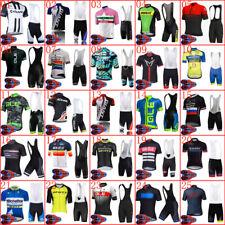 2020 cycling jersey bib shorts set men Summer bike Outfits bicycle sport uniform